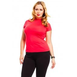 фото Водолазка Mondigo XL 037. Цвет: ярко-розовый. Размер одежды: 48