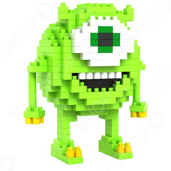 Конструктор-игрушка Loz «Зеленый Циклоп»Другие виды конструкторов<br>Конструктор-игрушка Loz Зеленый Циклоп обязательно понравится ребенку. Он сможет самостоятельно собрать целую композицию, с которой потом можно будет играть. Играя с конструктором, ребенок будет развивать пространственное и логическое мышление, творческие способности и мелкую моторику рук. Кроме того, с получившейся игрушкой он сможет самостоятельно придумывать различные игровые ситуации, развивая тем самым и фантазию.<br>