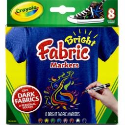 Купить Набор маркеров для ткани Crayola «Fabric Markers»