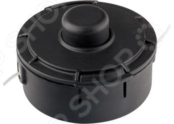 Катушка для триммера Denzel 96305Аксессуары для садовых триммеров<br>Катушка для триммера Denzel 96305 универсальный сменный элемент для электрического триммера модели 96610 торговой марки DENZEL. Катушка выполнена из качественного ударопрочного пластика, который отличается устойчивостью к механическим и бытовым стираниям. В корпусе расположен сердечник, куда наматывается леска диаметром до 2,4 мм. С её помощью вы сможете без труда скосить однолетнюю траву и многолетние сорняки.<br>