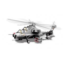 фото Конструктор игрушечный Dr.Luck «Вертолет WZ-10»