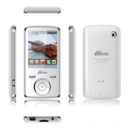 фото MP3-плеер Ritmix RF-7650. Цвет: белый. Встроенная память: 8 Гб