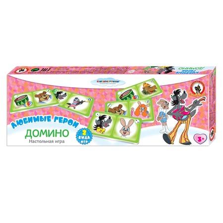 Купить Домино детское Русский стиль «Ну, погоди!»