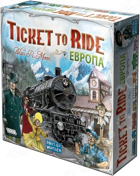 Игра настольная Мир Хобби «Ticket to Ride: Европа» europa европа фотографии жорди бернадо