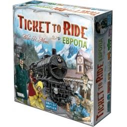 Купить Игра настольная Мир Хобби «Ticket to Ride: Европа»