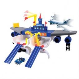 Купить Игровой набор Motormax «Boeing трансформирующийся в аэропорт»