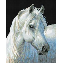 фото Набор для создания мозаичной картины Белоснежка «Белый конь»