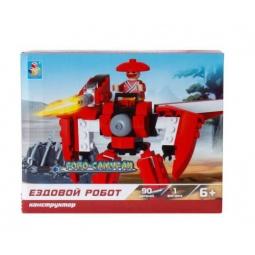 Купить Конструктор игровой 1 Toy «Робосамураи. Ездовой робот»