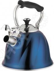 Чайник со свистком Marta MT-3045Чайники со свистком и без свистка<br>Чайник со свистком Marta MT-3045 - выполнен из долговечной и прочной стали 18 10, которая не окисляется и устойчива к коррозии. Модель имеет капсулированное дно, что значительно ускоряет процесс закипания воды. Объем чайника составляет 3 литра, он оснащен свистком, благодаря которому вы можете не беспокоиться о том, что закипевшая вода зальет плиту. Как только вода закипит - свисток оповестит вас об этом. Ручка чайника и ручка на крышке изготовлены из специального теплоустойчивого материала, который не обжигает руки. Удобный и практичный чайник отлично впишется в интерьер любой кухни и станет прекрасным украшением любого чаепития.<br>