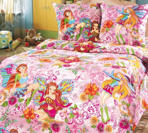 Ясельный комплект постельного белья Бамбино «Добрые феи»