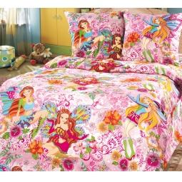 фото Ясельный комплект постельного белья Бамбино «Добрые феи»