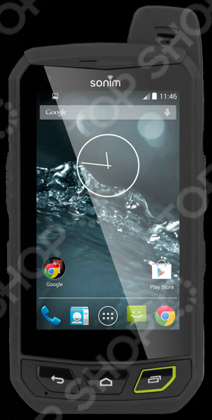 Смартфон защищенный Sonim XP7Смартфоны<br>Смартфон защищенный Sonim XP7 усовершенствованное устройство, отличающееся невероятной прочностью. Гаджет сочетает в себе самые новейшие технологии и обладает уникальными качествами и характеристиками, которыми ни обладают привычные для нас смартфоны. В частности, производители Sonim разработали сенсорный экран, который реагирует на прикосновения пальцев через мокрые и грязные перчатки. А качество изображения остается на высоте даже под прямыми солнечными лучами. Словом, этот смартфон для тех пользователей, которые не ограничивают свою жизнь только офисом и прогулками по городу. Корпус смартфона Sonim XP7 полностью водонепроницаем, он выдерживает погружение в воду на глубину 2-х метров в течение 30 минут, не говоря уже о защите от пыли, грязи, различных мельчайших частиц и пр. Смартфон устойчив к повышенным температурам, различным механическим воздействиям. Система защиты экрана Corning Gorilla Glass выдержит достаточно мощные удары, а мощный аккумулятор емкостью 4800 мАч точно не подведет вас в самый нужный момент. Гаджет может похвастаться громким динамиком и системой активного шумоподавления. В вопросе внутреннего содержания смартфон Sonim XP7 также не уступает многим другим. Это сверхсовременное и продвинутое устройство, обеспечивающее пользователю высокую эффективность работы, широкие возможности использования всех необходимых приложений. Камера в 8Мп позволит вам запечатлеть лучшие моменты жизни, важные события и все то, что вы посчитаете нужным сохранить. Особенно, если то позволяет встроенная память в размере 16Гб собирайте любую нужную информацию и не волнуйтесь об ее сохранности. Находясь в любых природных условиях, даже самых экстремальных, будьте на связи с теми, кто важен. Смартфон оборудован системами позиционирования GPS и ГЛОНАСС, а также профессиональной безлимитной рацией Push-to-talk.<br>