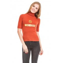 фото Свитер Mondigo 9043. Цвет: терракотовый. Размер одежды: 44