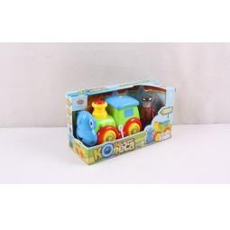 фото Паровозик игрушечный PlaySmart «Веселые колеса» Р41422
