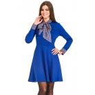 Фото Платье Mondigo 5153. Цвет: темно-синий. Размер одежды: 48