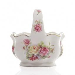 Купить Конфетница-корзинка Elan Gallery «Цветочная карусель»