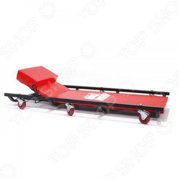 Лежак ремонтный на колесах Big Red TR6452