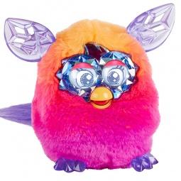 фото Мягкая игрушка интерактивная Hasbro «Ферби Кристалл». Цвет: розовый, оранжевый