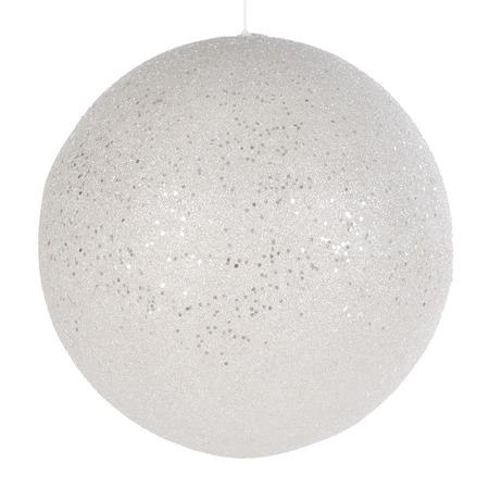 Купить Елочное украшение Christmas House «Шар подвесной заснеженный»