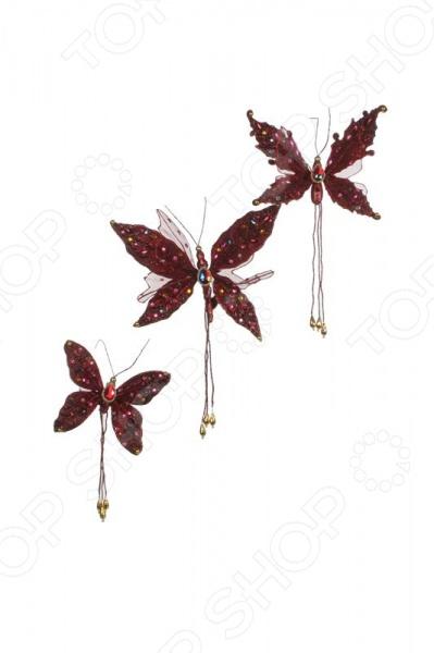 Набор новогодних украшений Katherines Collection «Бабочки» 1694677