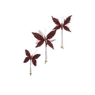 Купить Набор новогодних украшений Katherines Collection «Бабочки» 1694677