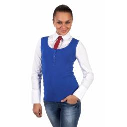 фото Жилет Mondigo 9402. Цвет: синий. Размер одежды: 44