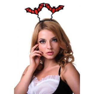 Купить Головной убор маскарадный Accessories «Антенки. Летучая мышь»