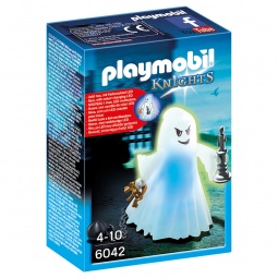 фото Конструктор игровой Playmobil «Рыцари: Призрак со светодиодной подсветкой»