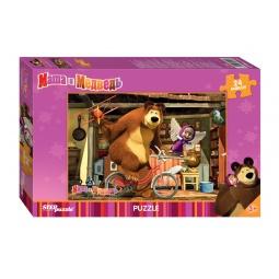 Купить Пазл детский Step Puzzle «Маша и Медведь» 90013