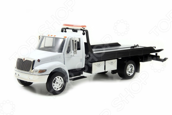 Модель автомобиля 1:24 Jada Toys 24 International Flat Bed Tow Truck Durastar