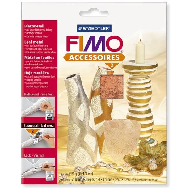 фото Фольга металлическая Fimo Easy metal 8780. Цвет: медный
