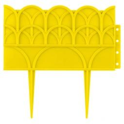 фото Бордюр декоративный Grinda 422223. Цвет: желтый
