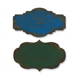 фото Форма для вырубки на магнитной основе Sizzix Movers & Shapers Die Мини-этикетки