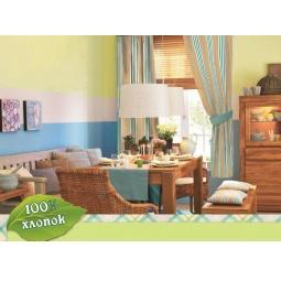 фото Комплект: шторы и подушки Любимый дом Летний домик