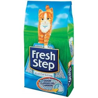 Купить Наполнитель для кошачьего туалета Fresh Step «Тройной контроль запахов»