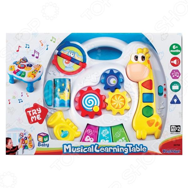 игровые центры для малышей b kids развивающий столик Музыкальный развивающий столик Keenway 32702