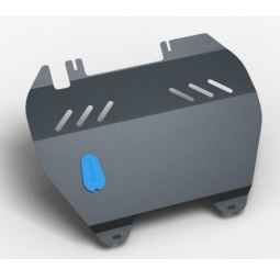 Комплект: защита картера и крепеж Novline-Autofamily Chery Indis 2011: 1,3 бензин МКПП - фото 5