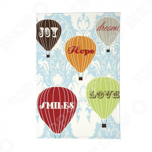 Визитница Mitya Veselkov «Полет на воздушном шаре»