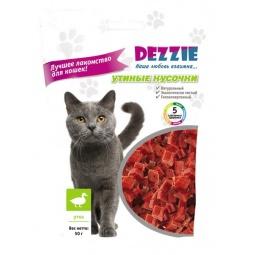 Купить Лакомство для кошек DEZZIE «Утиные кусочки»