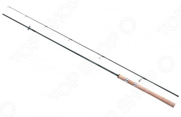 Удилище спиннинговое Daiwa Silver Creek N-Stage Ms 83 MУдилища<br>Ни для кого не секрет, что от правильного выбора оснастки зависит чуть ли не половина успеха вашего будущего улова. Удилище спиннинговое Daiwa Silver Creek N-Stage Ms 83 M станет отличным дополнением к набору аксессуаров и принадлежностей для рыбалки. Модель рассчитана на ловлю в условиях сильного течения, отличается высокой чувствительностью, легким весом и быстрым строем. Бланк спиннинга выполнен из графитового углеволокна, а пропускные кольца снабжены вставками из карбида кремния SiC в титановой оправе. Удилище имеет достаточную степень жесткости, что позволяет контролировать глубоководные воблеры и с легкостью вываживать крупную рыбу.<br>