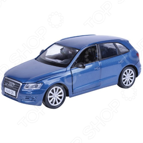 Модель автомобиля 1:24 Motormax Audi Q5 модель автомобиля 1 18 motormax fiat nuova 500 cabrio