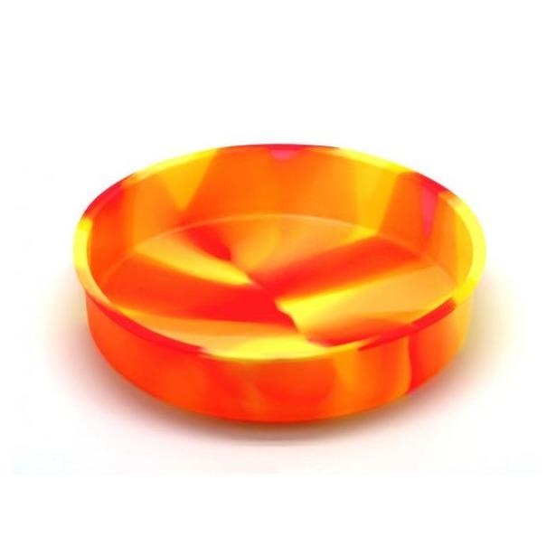 фото Форма для выпечки силиконовая Atlantis «Торт» SC-BK-004M. Цвет: желтый, оранжевый