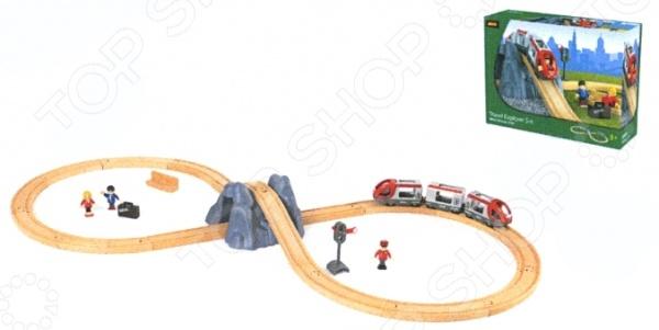 Железная дорога с поездом Brio «Туннель в горе»