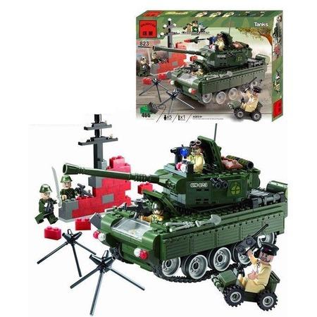 Купить Конструктор игровой Brick Tanks 1717107 гусеничный
