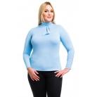 Фото Водолазка Mondigo XL 7013. Цвет: голубой. Размер одежды: 48