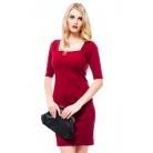 Фото Платье Mondigo 8669. Цвет: бордовый. Размер одежды: 44
