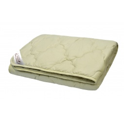 фото Одеяло стеганое с верблюжьей шерстью Домашний уют