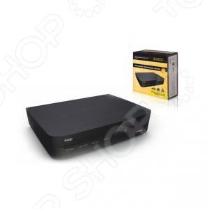 Ресивер СИГНАЛ HD КомбиTV-тюнеры. Ресиверы. Комплекты спутникового оборудования<br>Ресивер СИГНАЛ DVB-T2 HD Комби устройство для просмотра качественного телевидения. Принимает основные современные форматы цифрового сигнала. Компактные размеры позволят его разместить как дома, так и в автомобиле. Рабочая температура ресивера от 0 до 40 С. Поддерживает режим HD. Имеет универсальное питание от 220, 12 и 24 В. Позволяет осуществить запись телепрограмм. Сочетает в себе мультимедиа плеер и позволяет обновить ПО через USB.<br>