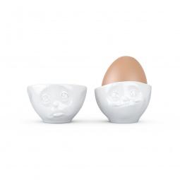 фото Подставки для яиц Tassen «Мимика: удивление&симпатяга»