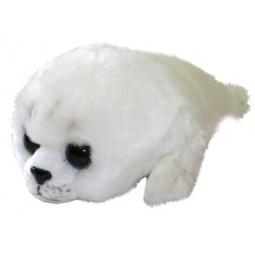 фото Мягкая игрушка Зверюшки «Крошка-тюлень»